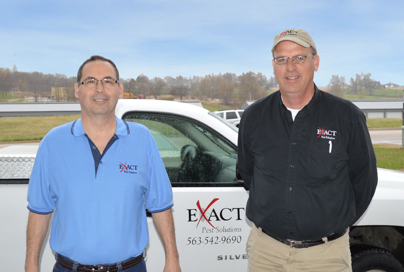 Exact Pest Solutions owners Tom and Bill